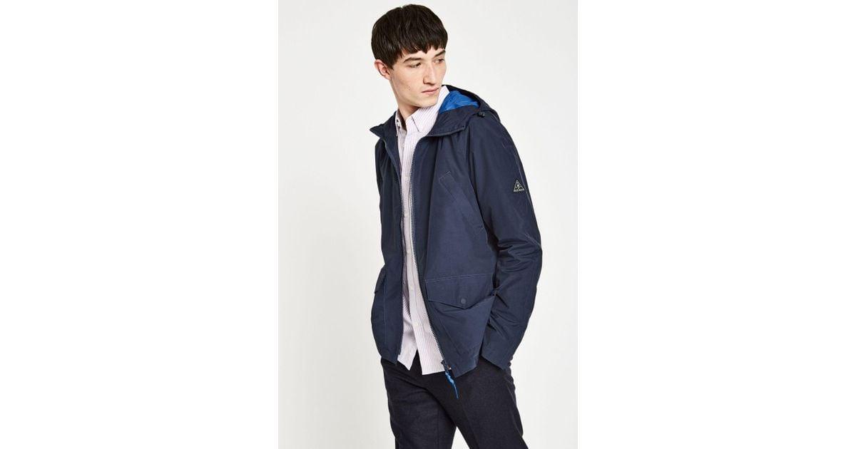 bb7b5ee652 Jack Wills Chevening Rain Mac in Blue for Men - Lyst
