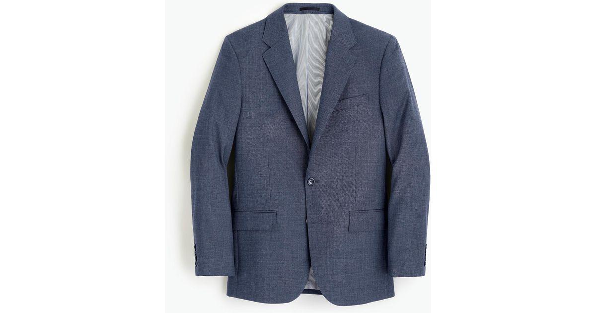 44cde9600abdfa J.Crew Ludlow Classic-fit Suit Jacket In Italian Stretch Four-season Wool  in Blue for Men - Lyst