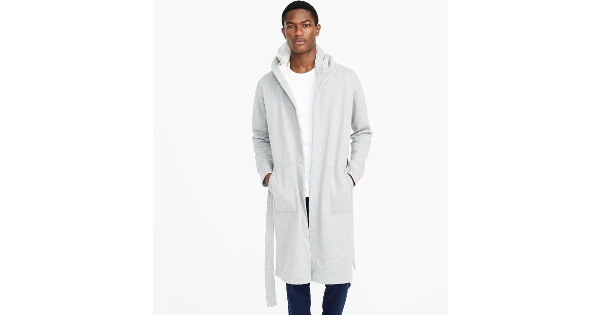 a4a1032f4d Lyst - J.Crew Reigning Champ Hooded Robe for Men
