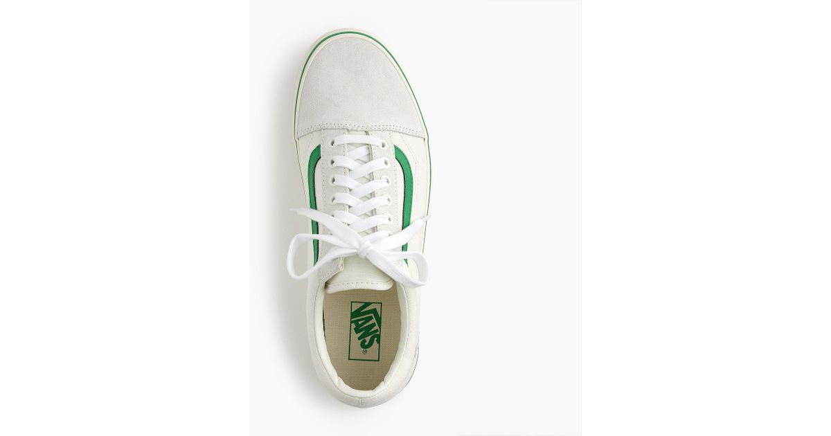 669e2d2f4d83 Lyst - Vans Old Skool Sneakers In Ripstop Cotton in Green for Men