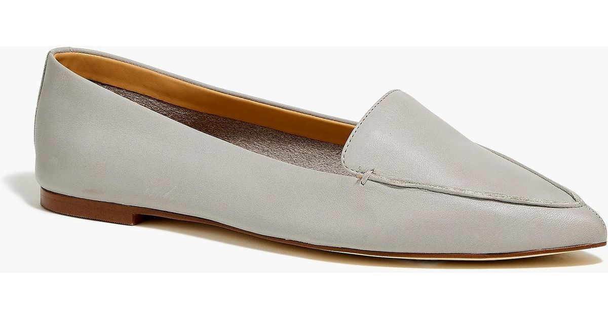 923beb498b4 Lyst - J.Crew Edie Leather Loafers