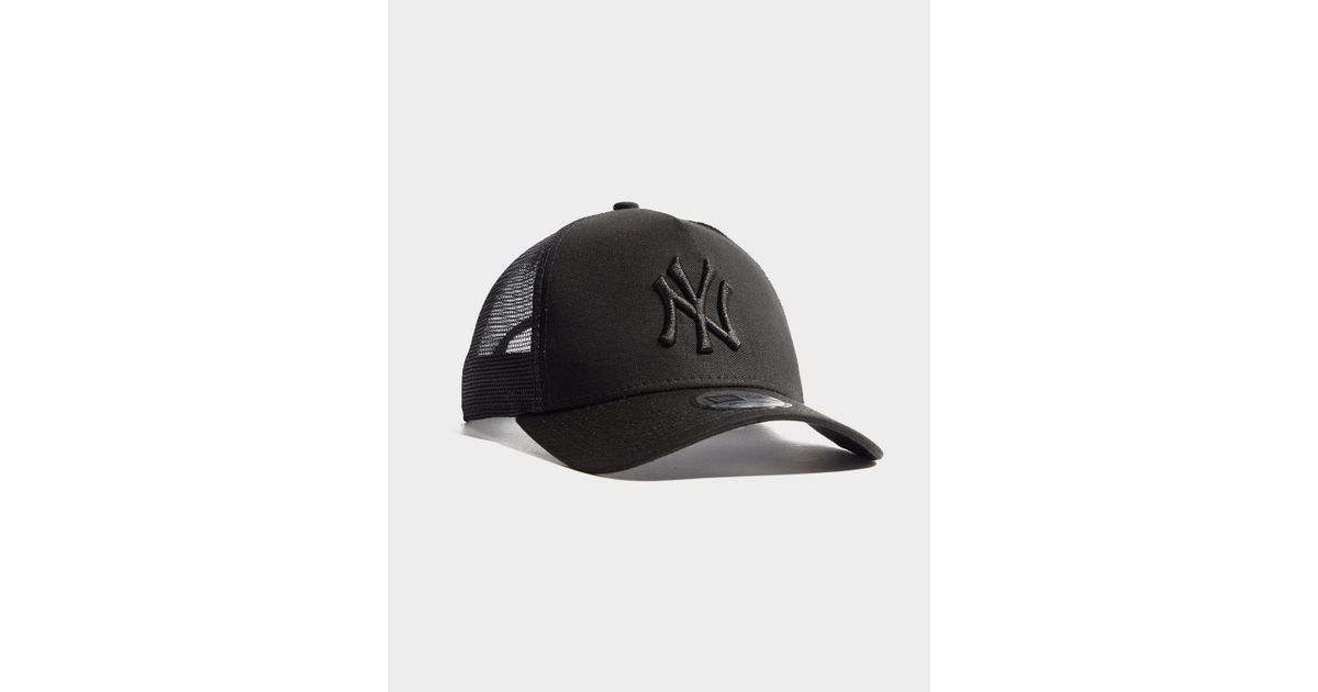 c61b4e3c0f5 Lyst - KTZ Mlb New York Yankees Snapback Trucker Cap in Black