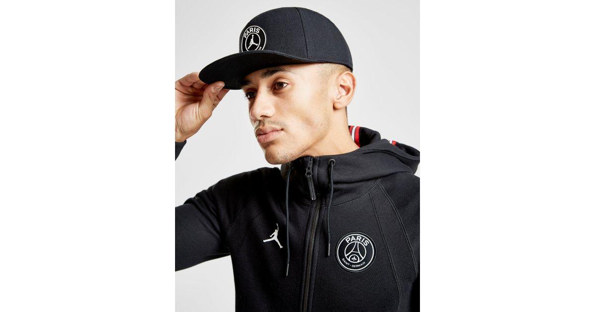 d44c68690002c Nike X Paris Saint Germain Pro Cap in Black for Men - Lyst