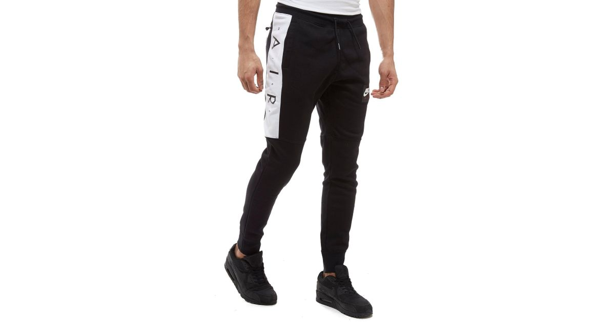 7df7915c1d7a Air Air Air in Lyst Nike Black Men for for for Fleece Pants qSxH7