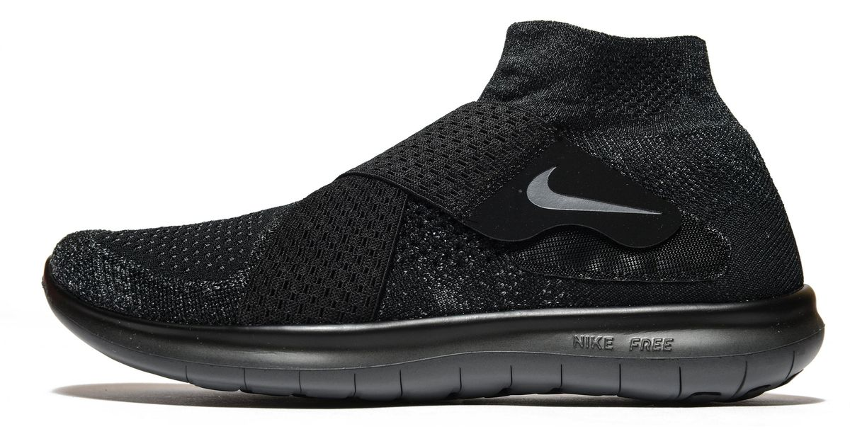 bd388bb529ec Lyst - Nike Free Run Motion Flyknit 2 in Black for Men
