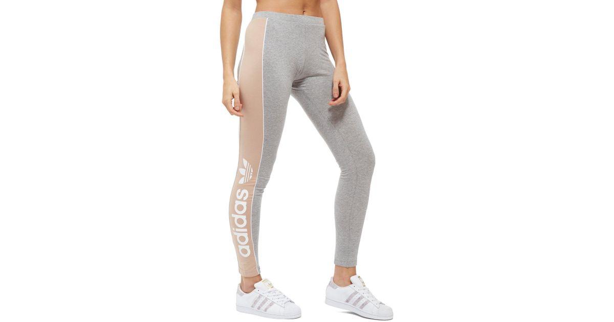 adidas originals linear leggings - la vente à bon marché des adidas ... 7552af016b3