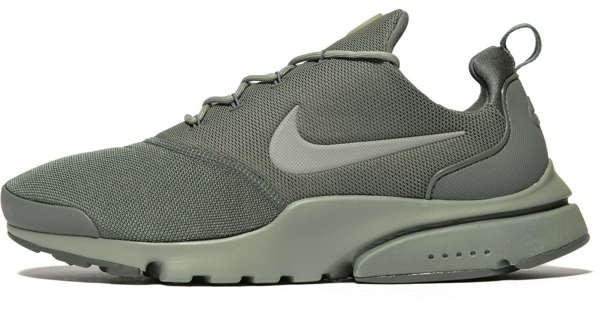 the best attitude a6df6 031c7 Nike Air Presto Fly in Green for Men - Lyst