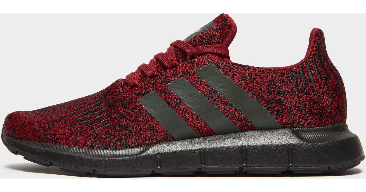 e3ceb79737534 adidas Originals Swift Run in Red for Men - Lyst