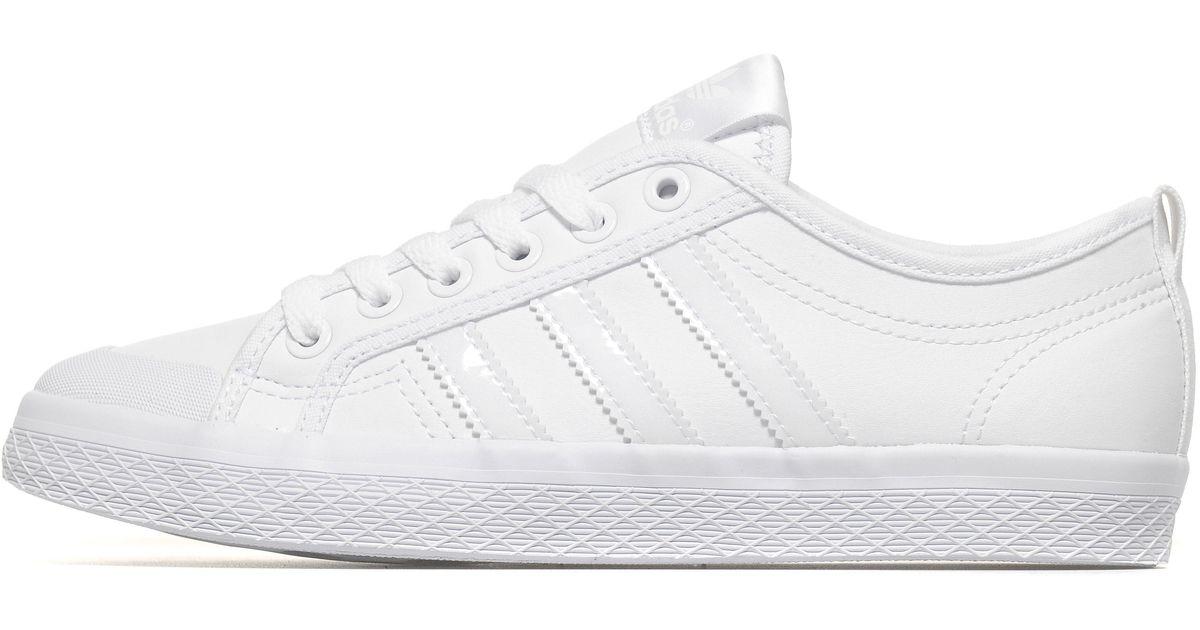 adidas Originals Honey Lo in White - Lyst 6b013341275d