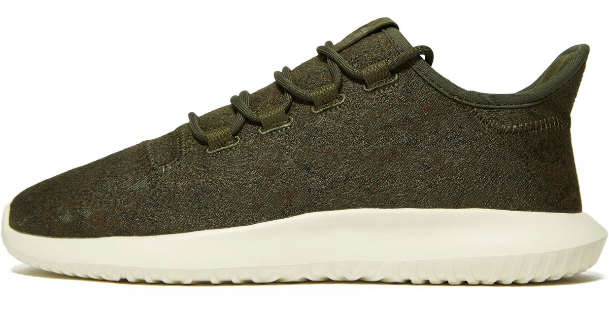 42d4b9eb02cd adidas Originals Tubular Shadow Jacquard in Green for Men - Lyst