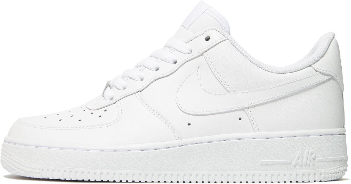 huge selection of a0f26 d1445 Lyst - Nike Air Force 1 Low Womens in White