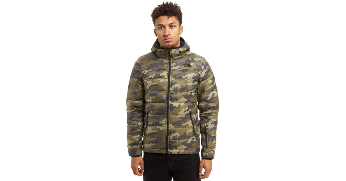 ... closeout lyst the north face shark down padded jacket in green for men  5e017 3b3b8 e72ba8a1c