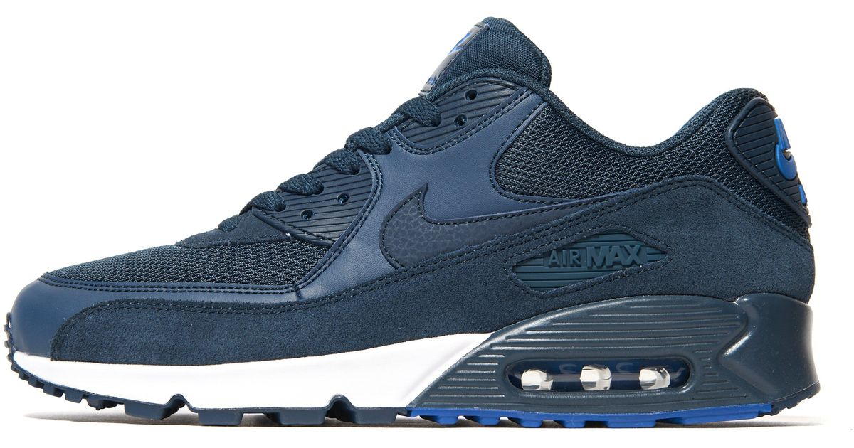 ec582fceb37 ... cheap lyst nike air max 90 army trainers in blue for men 7127f 7f533