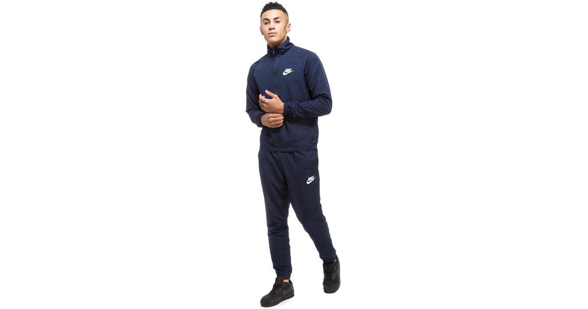 df6ec8bb6b10 Lyst - Nike Season 2 Woven Tracksuit in Blue for Men