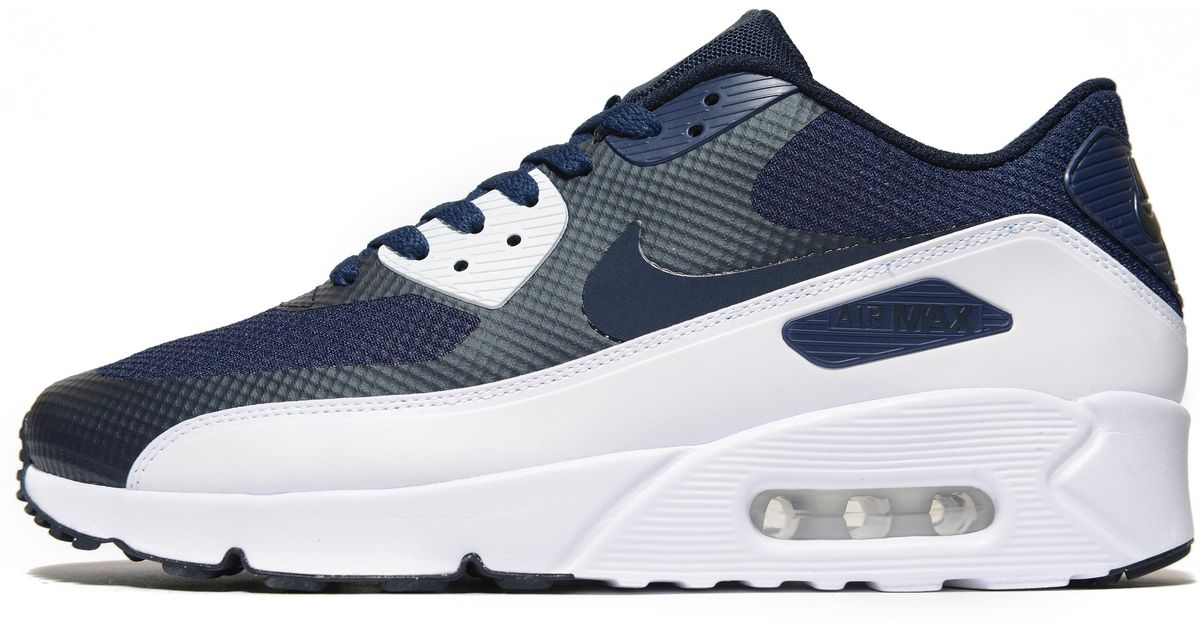 best authentic 9e4a2 0c60c Lyst - Nike Air Max 90 Ultra Essential 2.0 in Blue for Men
