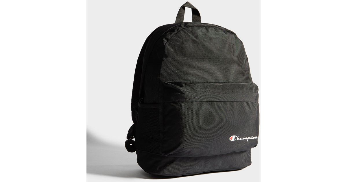 699c5d8e8b0 Champion Backpack in Black for Men - Lyst