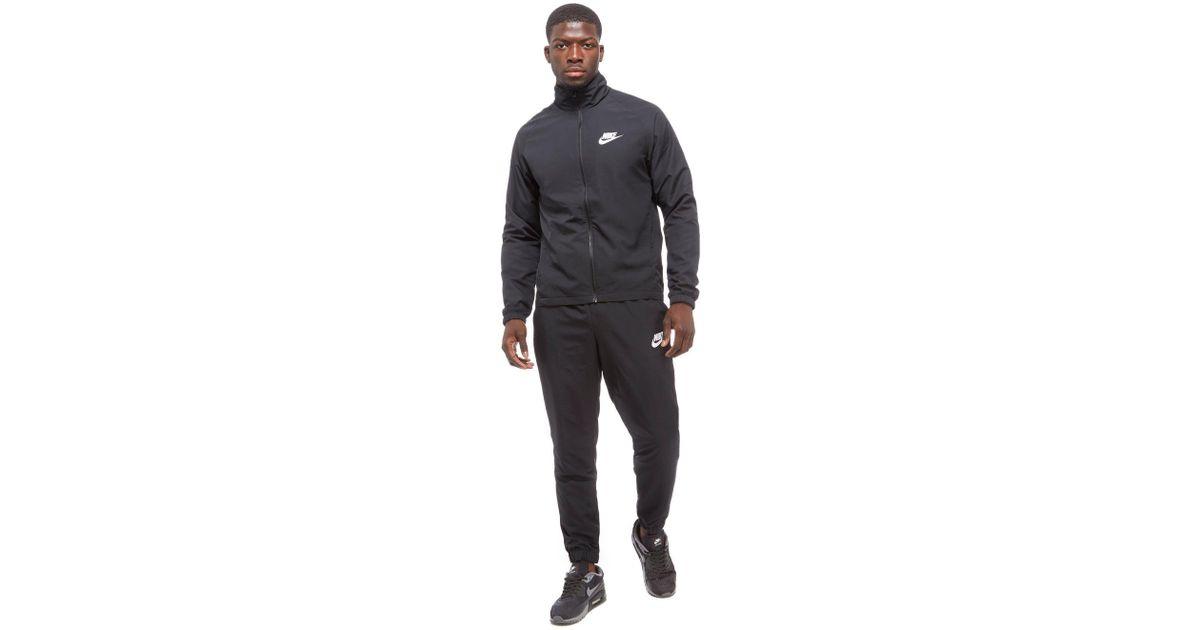 121b5daf7f89 Nike Season 2 Woven Tracksuit in Black for Men - Lyst