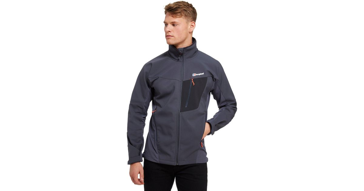 36355e2bb Berghaus Ghlas Softshell Jacket in Gray for Men - Lyst