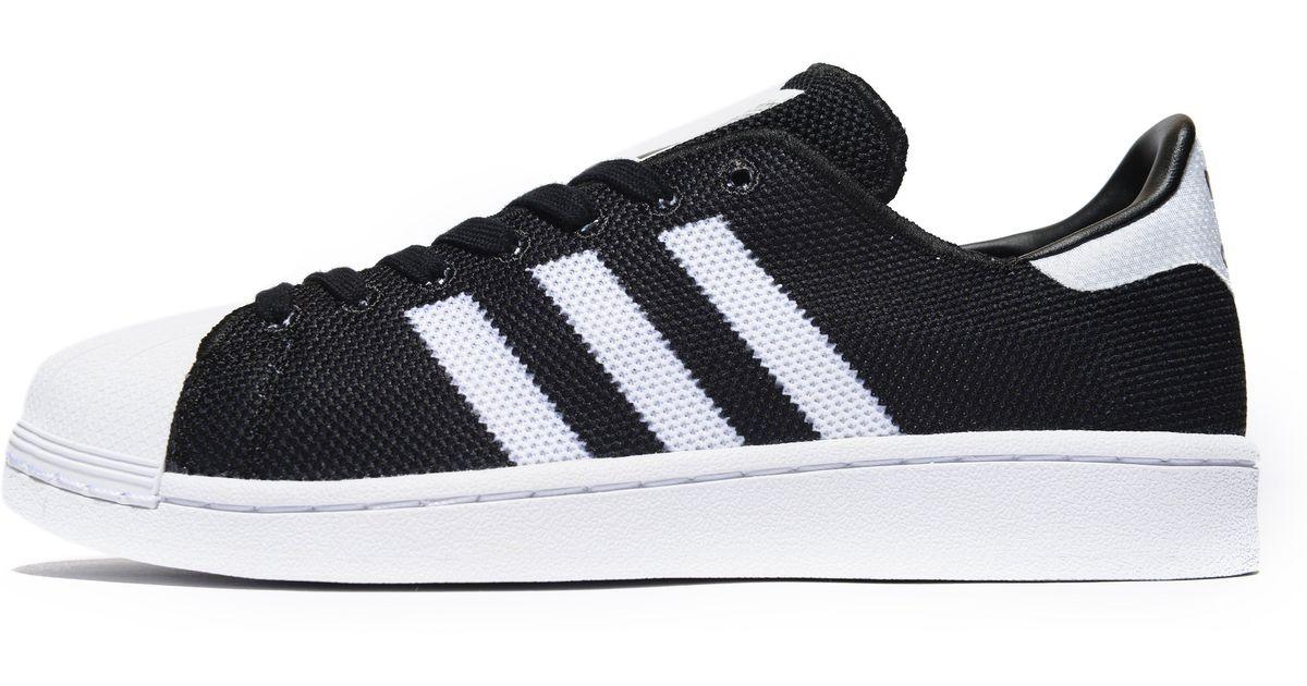 best website d0526 a6c1e Lyst - Adidas Originals Superstar Mesh in Black for Men