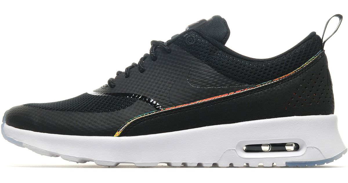 buy popular c8393 1f113 Lyst - Nike Air Max Thea Premium in Black