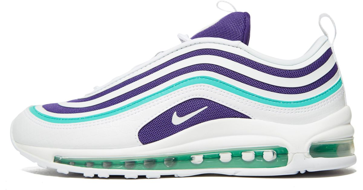 Lyst - Nike Air Max 97 Ultra Trainers In White And Purple 985c322e35bf