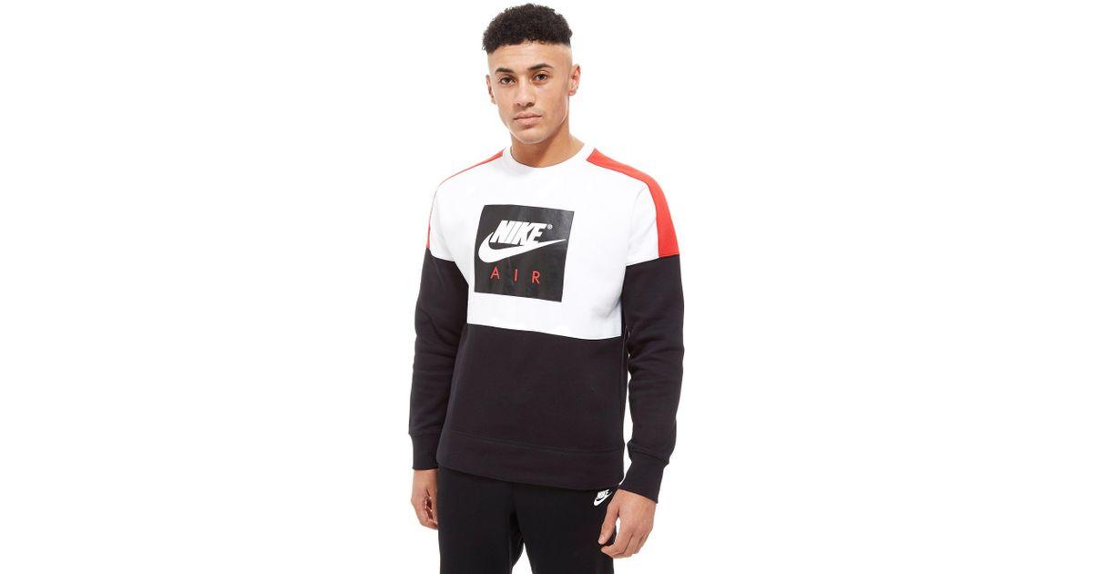 7fc0a962307370 Lyst - Nike Air Crew Sweatshirt in Black for Men