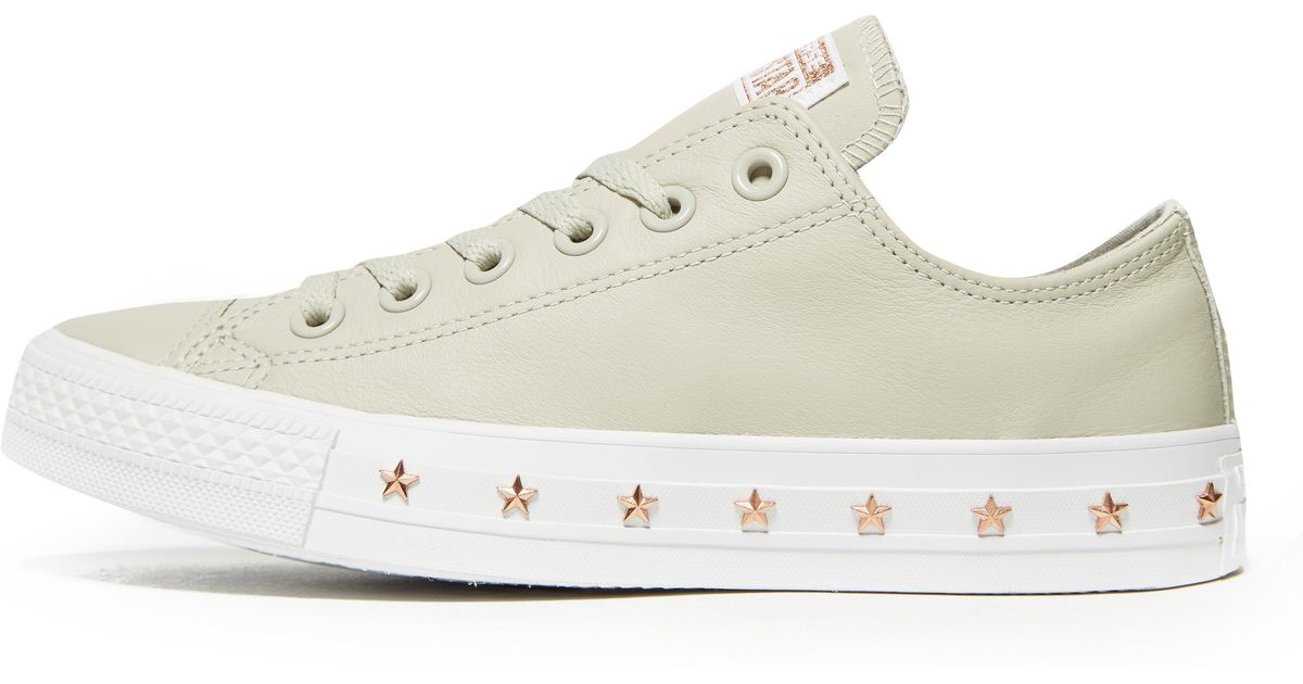 939cab9579e2 Converse All Star Ox Stud Women in Gray - Lyst