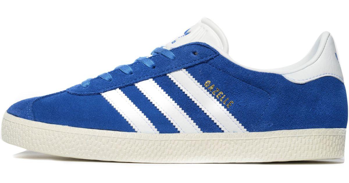 lyst adidas originals gazelle ii junior in blau für männer