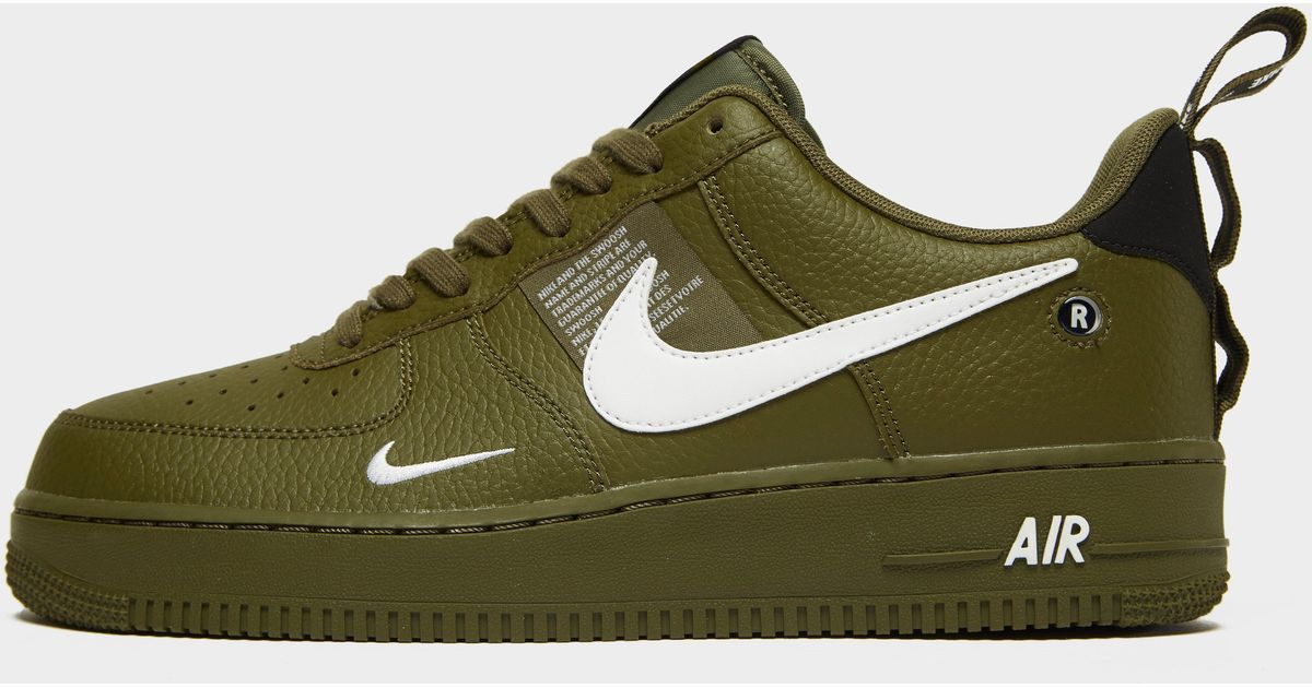 d1bd7a5d953f9 Lyst - Nike Air Force 1  07 Lv8 Utility Men s Shoe in Green for Men