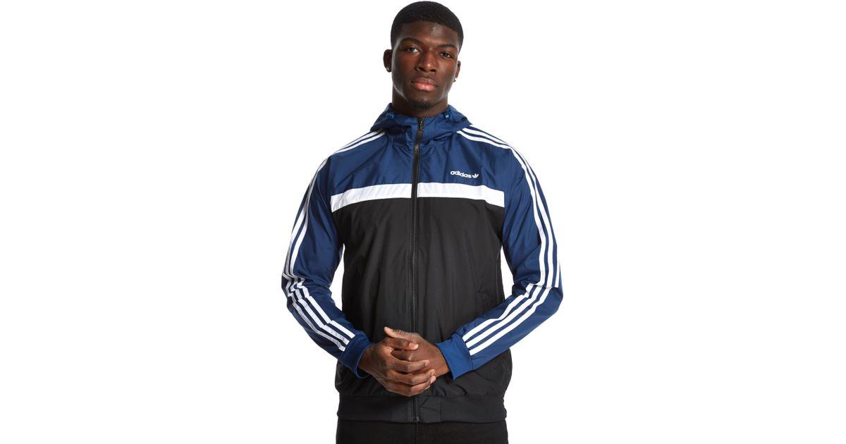 4e144a6e21d50 adidas Originals Marathon 83 Windbreaker in Blue for Men - Lyst