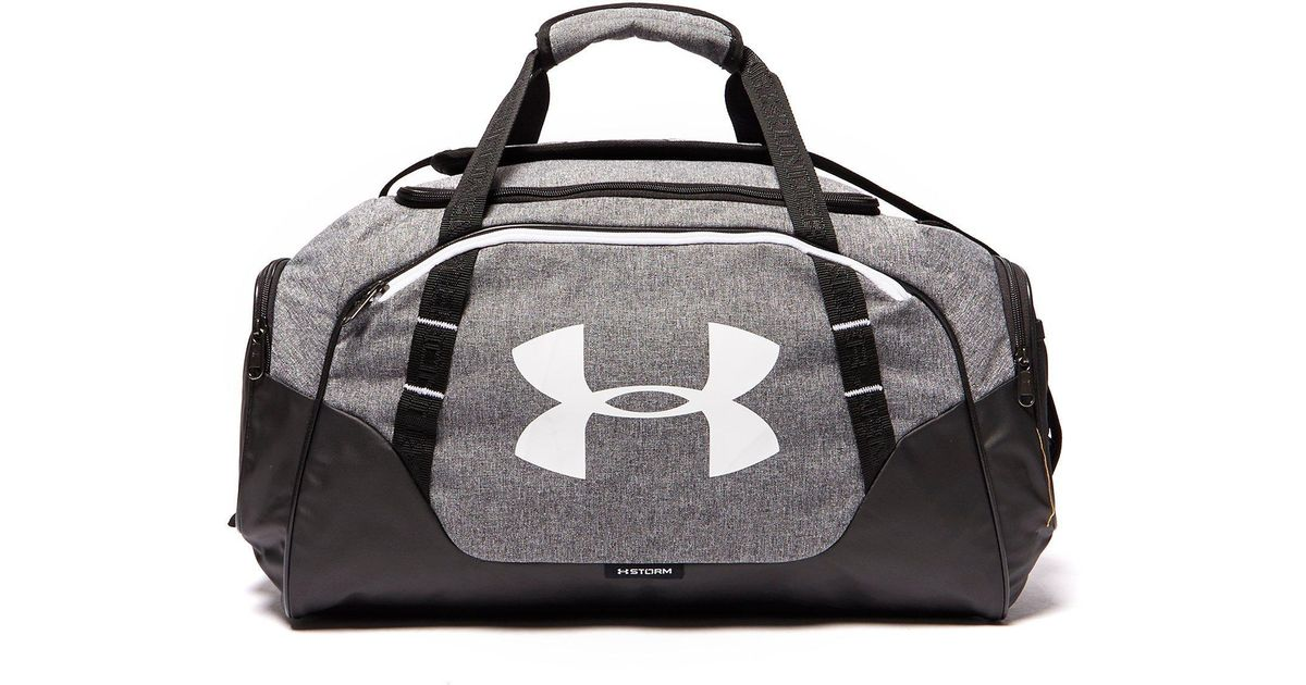 Lyst - Under Armour Storm Undeniable Ii Sm Duffle Bag in Gray for Men 5b9c655ea3294