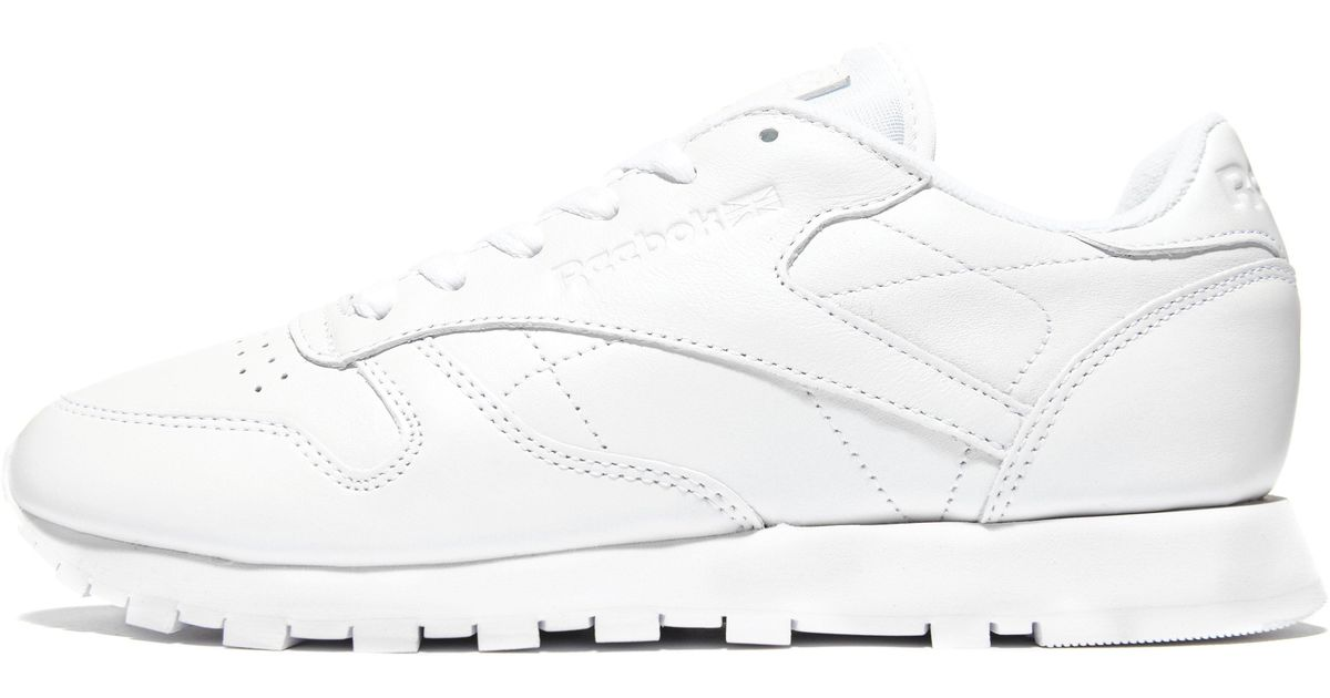 Leather Lyst Pearlised White Classic Reebok Nwmn08