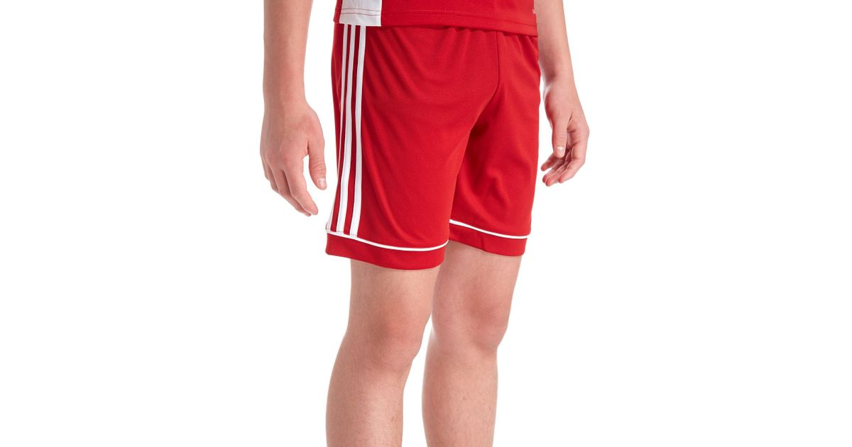 7d1747a26d7e6 Lyst - adidas Squadra 17 Shorts Junior in Red for Men
