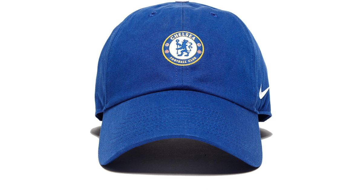 04b58456c79 ... where to buy nike chelsea fc h86 cap in blue for men lyst f176f 75a30