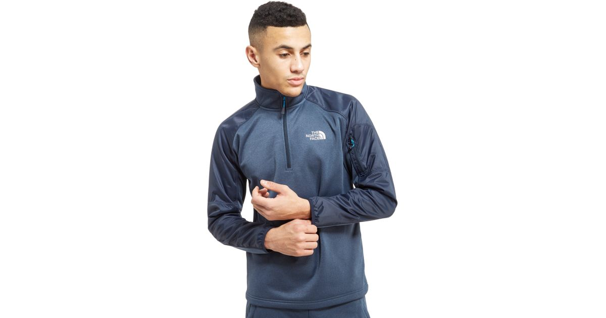 962e06a6ae7aa The North Face Tech Delta Top in Blue for Men - Lyst