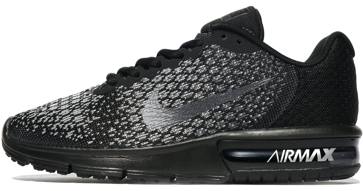 a6f5154df0 Lyst - Nike Air Max Sequent 2 in Black