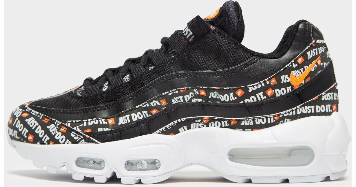 timeless design 7c54b 9cfd5 Nike - Black Air Max 95 'just Do It' - Lyst