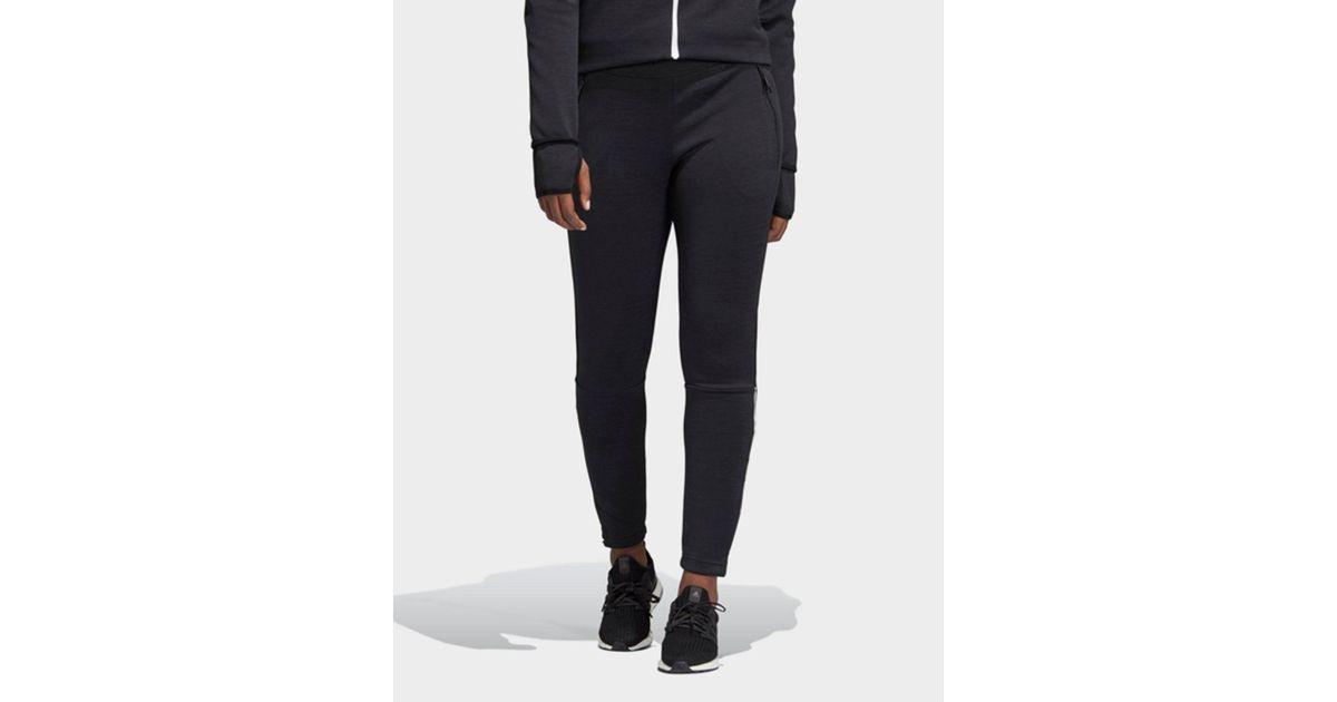 Adidas Black Z.n.e. Pants Lyst