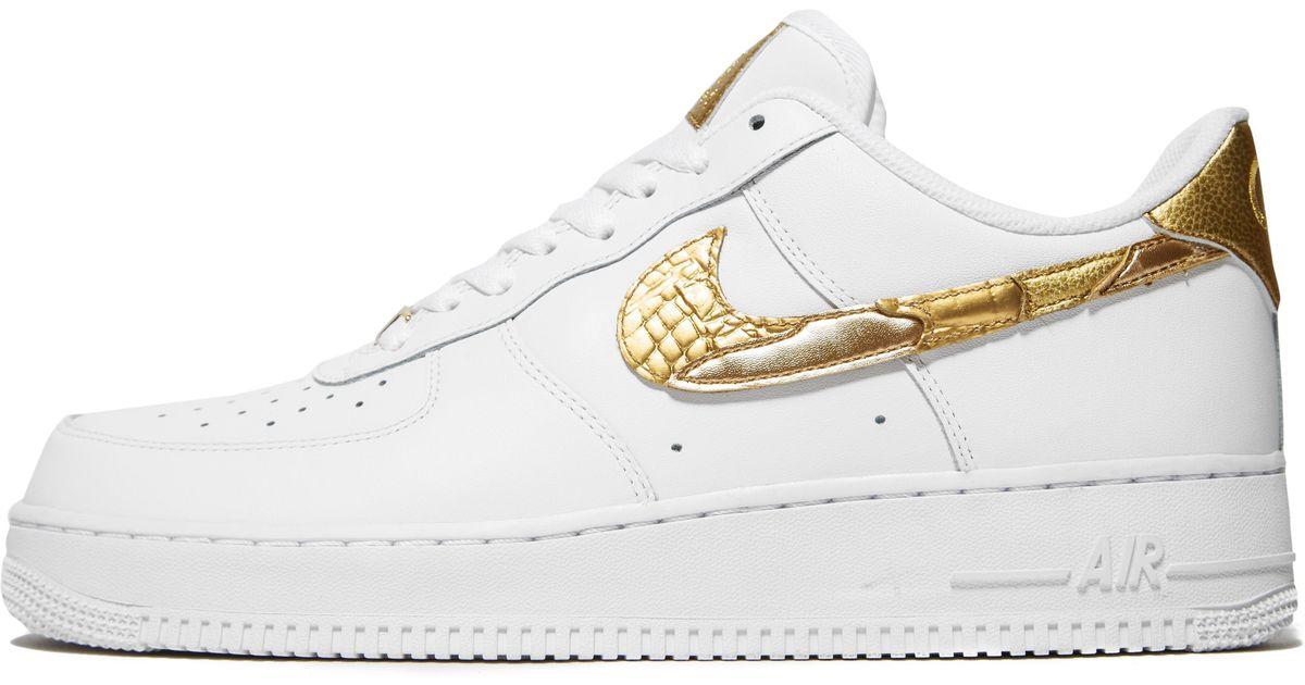 eaea8538aa5 Nike Air Force 1 Cr7 in White - Lyst