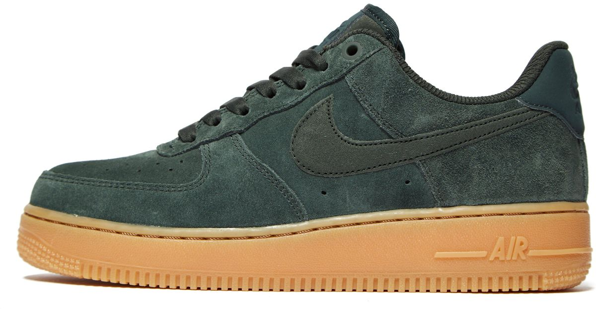 best service f4daf fd30a Lyst - Nike Air Force 1 in Green for Men