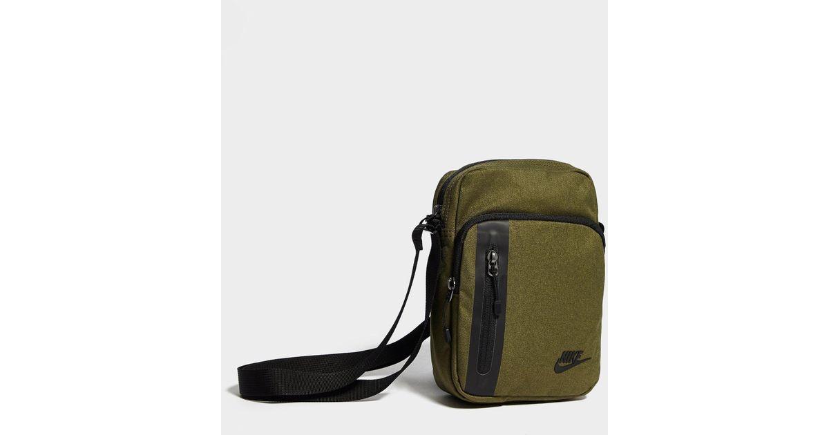fda6b9fc1d4 Nike Core Small Crossbody Bag in Black for Men - Lyst