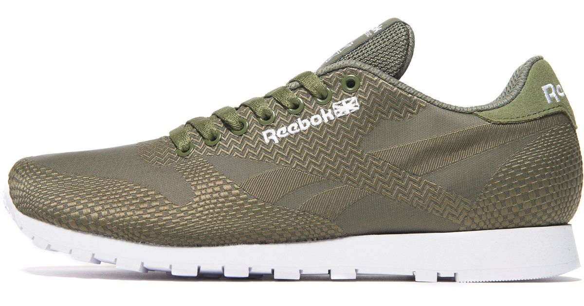 Men Reebok Jacquard Lyst Green Classic For EIHD29