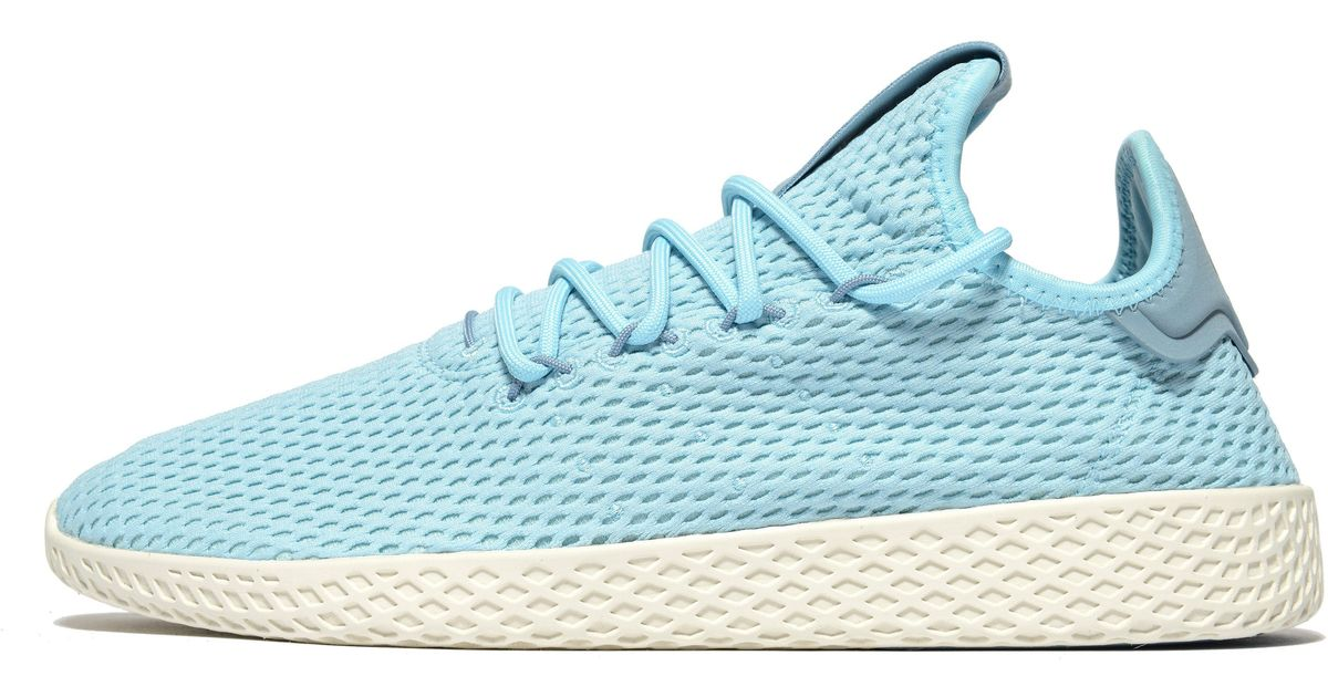 lyst adidas originali pharrell williams tennis hu in blu