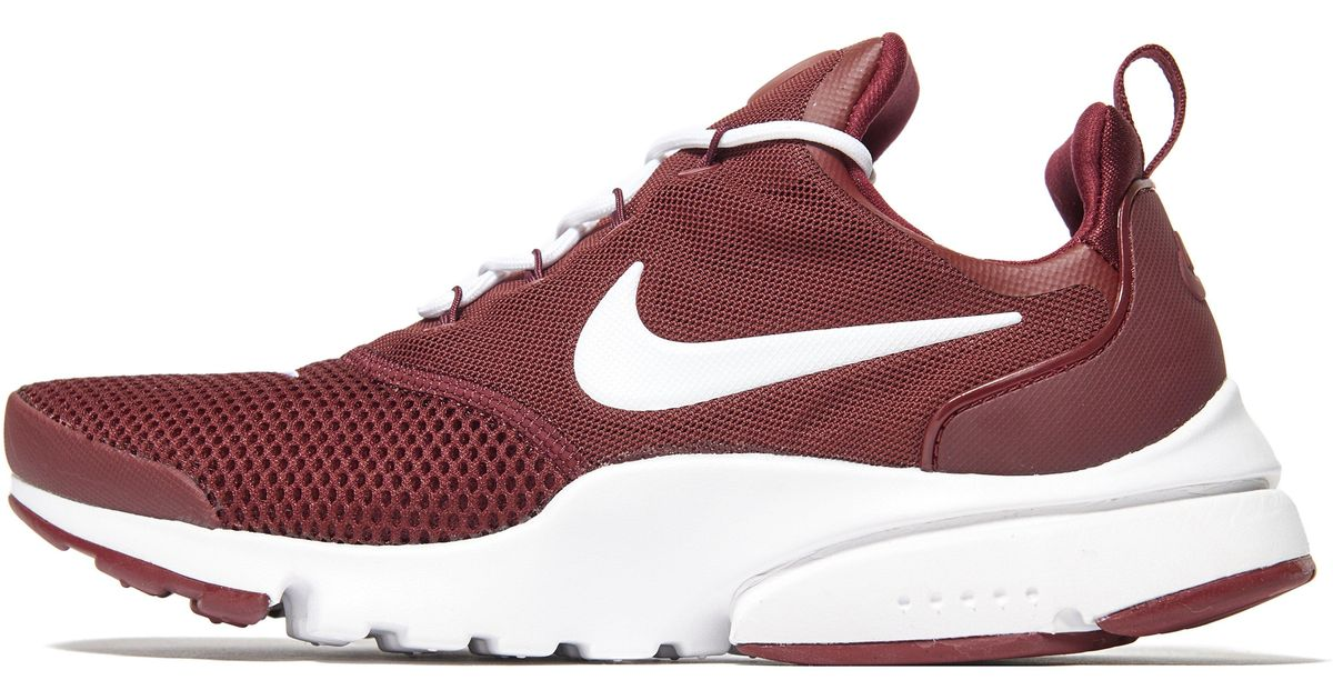... where to buy lyst nike air presto fly in red for men 79c63 8e69d 1262ee496