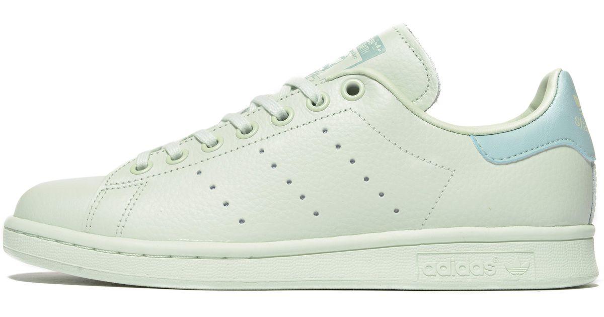 Lyst - adidas Originals Stan Smith Junior in Green 1eddb22a2