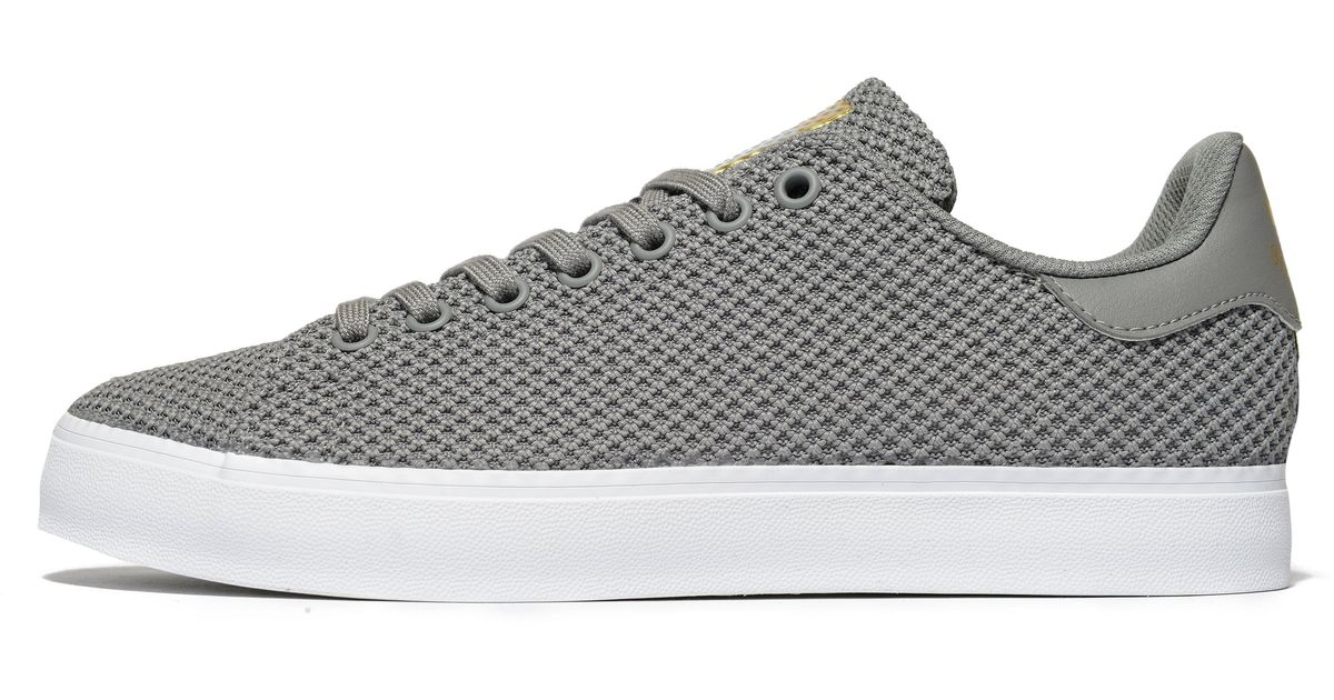 newest 49f17 cf099 Adidas Originals - Gray Stan Smith Vulc for Men - Lyst