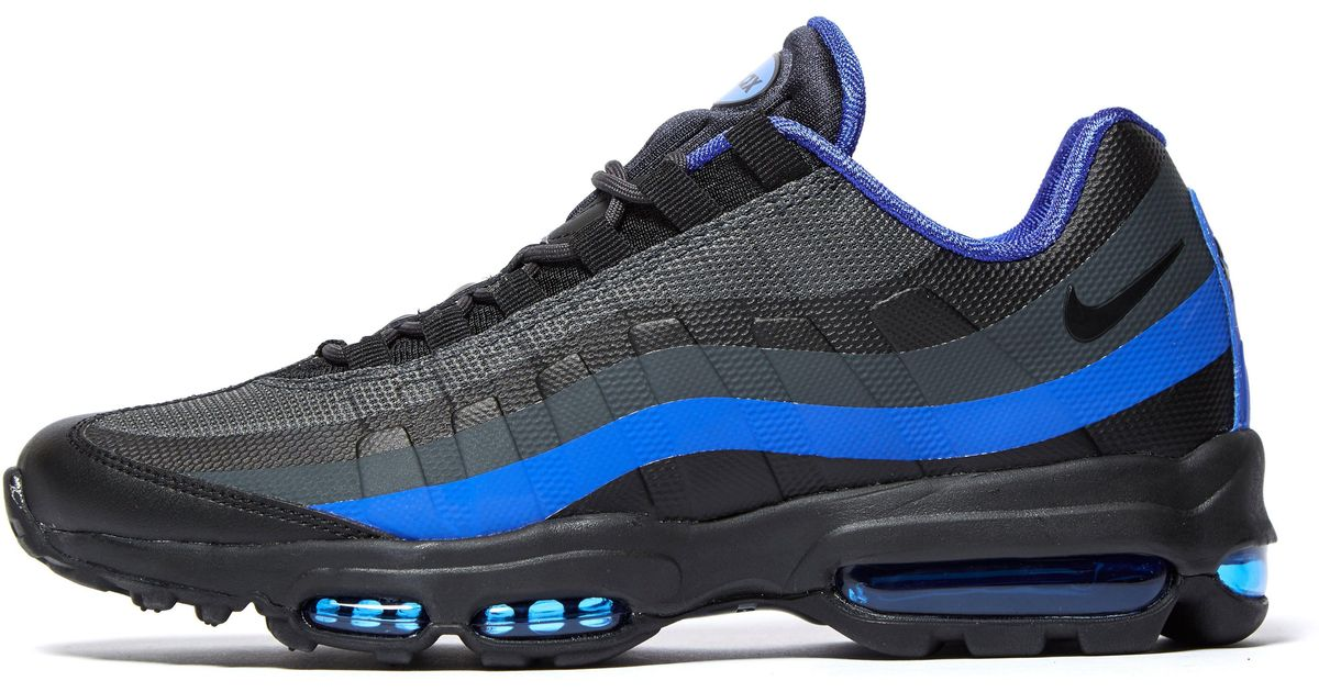 296432311e3f7c ... greece lyst nike air max 95 ultra essential in blue for men 00573 4b7e9