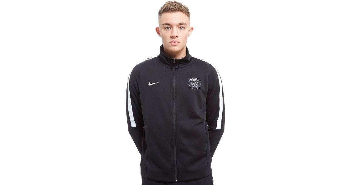 927afc8f64cffd nike paris saint germain authentic n98 track jacket in black for men