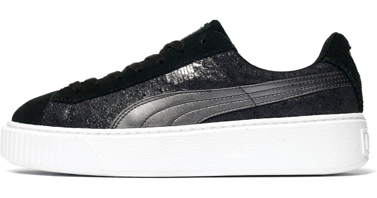 For Safari Black Suede Men Platform Puma In Lyst YPSqgwW 01070db33e15a