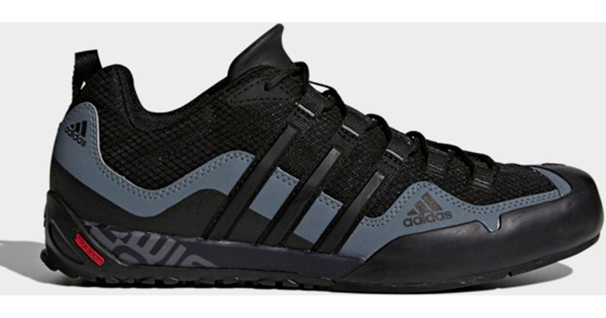 half off 9186f f788d Lyst - adidas Terrex Swift Solo Shoes in Black for Men